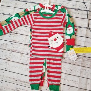 3T Carter's four piece pajama set